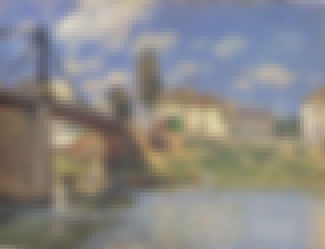 Bridge at Villeneuve-la-Garenn... is listed (or ranked) 1 on the list Famous Alfred Sisley Paintings