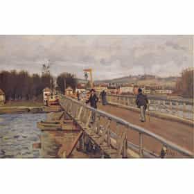 Footbridge at Argenteuil
