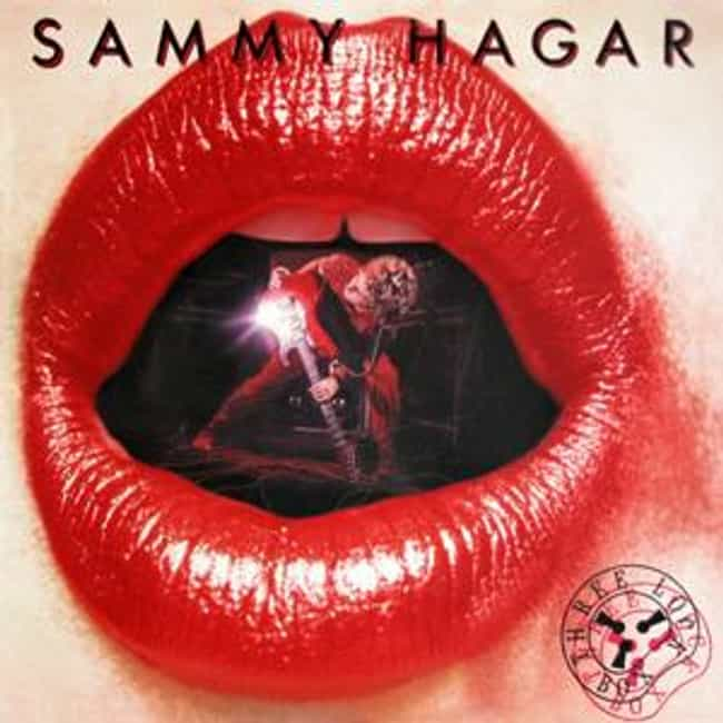 Three Lock Box is listed (or ranked) 2 on the list The Best Sammy Hagar Albums of All Time