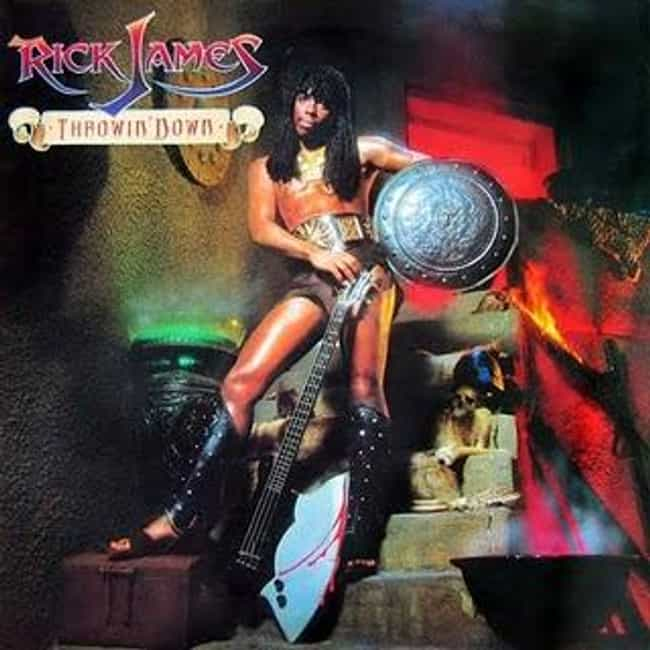 Throwin' Down is listed (or ranked) 2 on the list The Best Rick James Albums of All Time