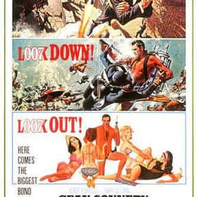 Thunderball is listed (or ranked) 6 on the list The Best Spy Movies Based on Books