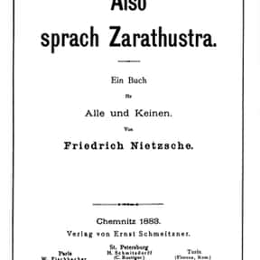 Thus Spoke Zarathustra is listed (or ranked) 15 on the list Famous Prose Poetry Books and Novels