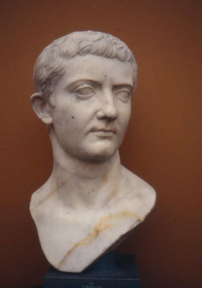 Tiberius is listed (or ranked) 3 on the list Extraordinary Sexual Habits And Stories Of Royals Throughout History