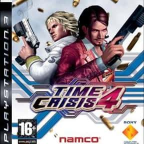 Time Crisis 4 is listed (or ranked) 4 on the list The Best Time Crisis Games