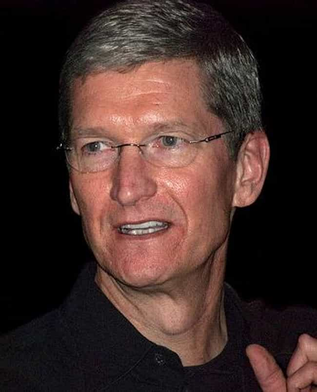 Tim Cook is listed (or ranked) 1 on the list List of Famous Chief Operating Officers