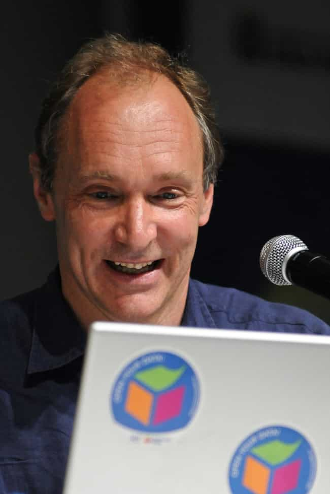 Tim Berners-Lee is listed (or ranked) 1 on the list Famous Emanuel School Alumni