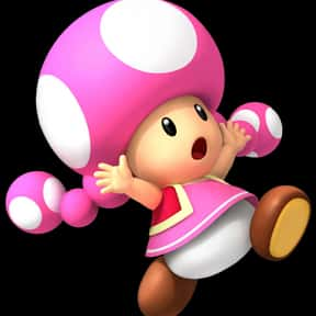 Toadette is listed (or ranked) 11 on the list The Best Pink Characters