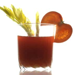 Tomato juice is listed (or ranked) 2 on the list The Best Things to Put in a Bloody Mary