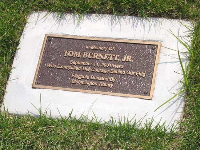 Tom Burnett is listed (or ranked) 3 on the list List of Famous Air Force Officers