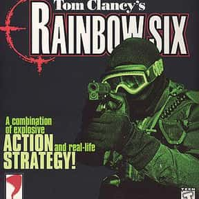 Tom Clancy's Rainbow Six is listed (or ranked) 2 on the list The Best Tactical Shooter Games of All-Time