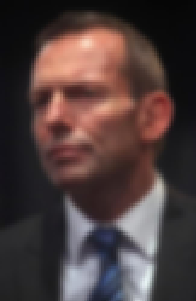 Tony Abbott is listed (or ranked) 4 on the list Famous St Aloysius' College Alumni/Students