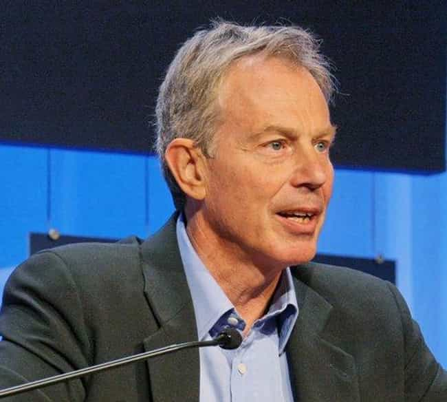 Tony Blair is listed (or ranked) 1 on the list Famous Male Barristers