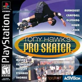 Tony Hawk's Pro Skater is listed (or ranked) 17 on the list The Best Nintendo 64 RPGs
