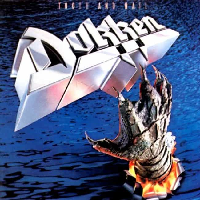 Tooth and Nail is listed (or ranked) 3 on the list The Best Dokken Albums of All Time
