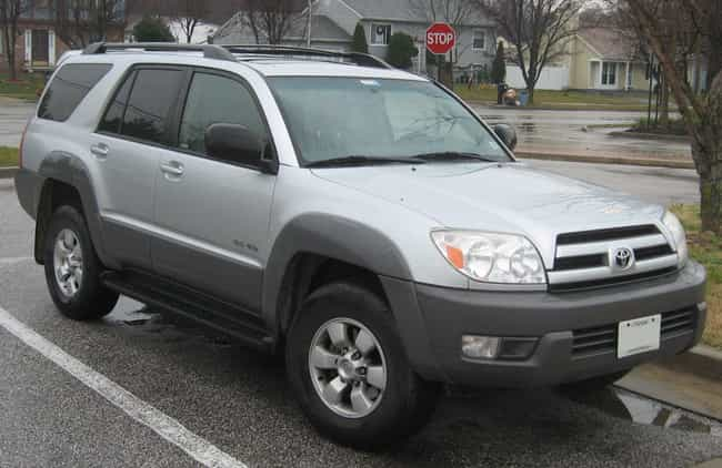Toyota 4Runner is listed (or ranked) 2 on the list The Best Fly Fishing Vehicles