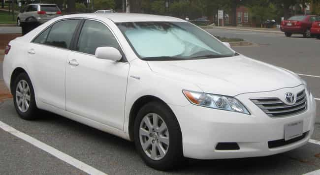 Toyota Camry Hybrid Is Listed Or Ranked 4 On The List Full Of