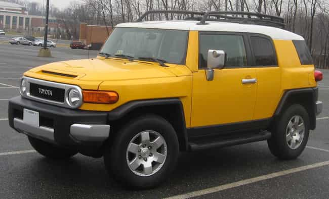 Toyota FJ Cruiser is listed (or ranked) 4 on the list The Best Recreational Cars and SUVs