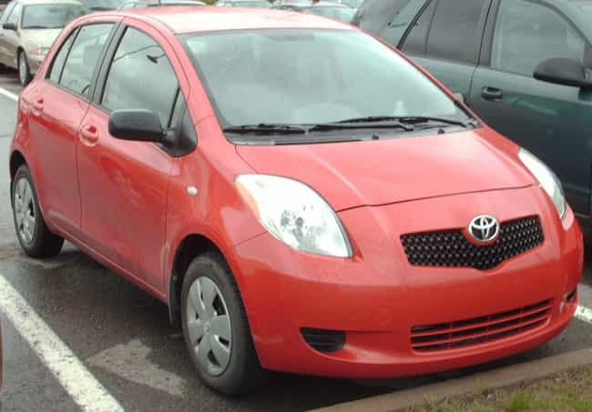 Toyota Yaris Is Listed Or Ranked 3 On The List Full Of