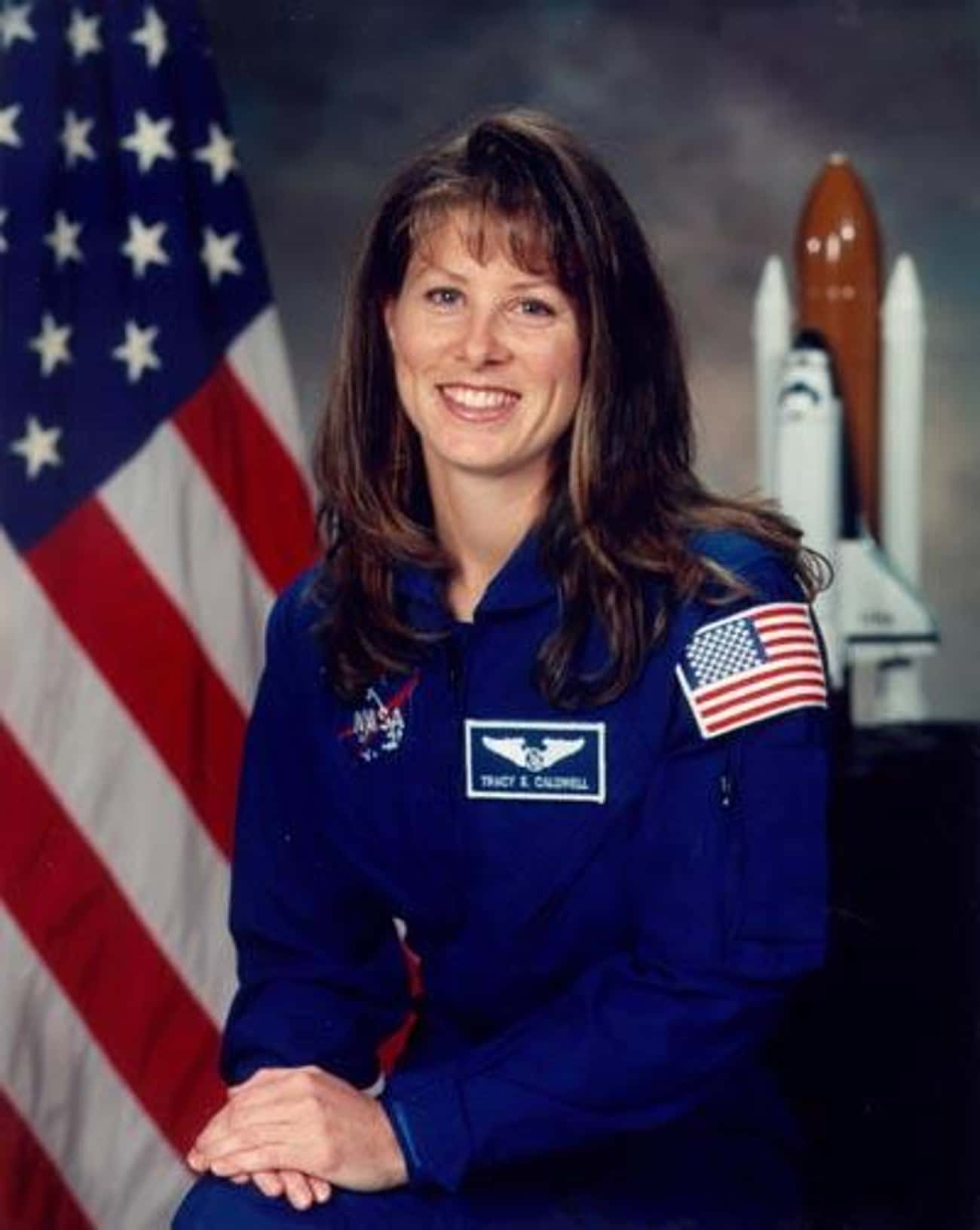 Tracy Caldwell Dyson is listed (or ranked) 1 on the list The Hottest Lady Astronauts In NASA History