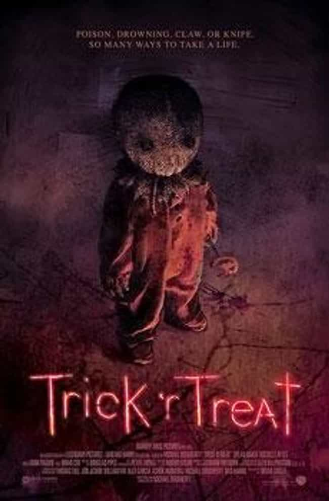 trick r treat is listed or ranked 1 on the list underrated halloween