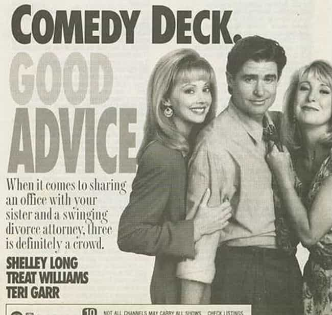 Good Advice is listed (or ranked) 2 on the list Danny Jacobson Shows and TV Series