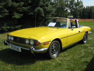 Triumph Stag is listed (or ranked) 1 on the list Full List of Triumph Motor Company Models