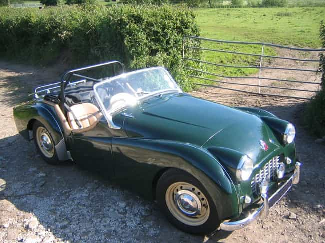 Triumph TR3 is listed (or ranked) 8 on the list Full List of Triumph Motor Company Models