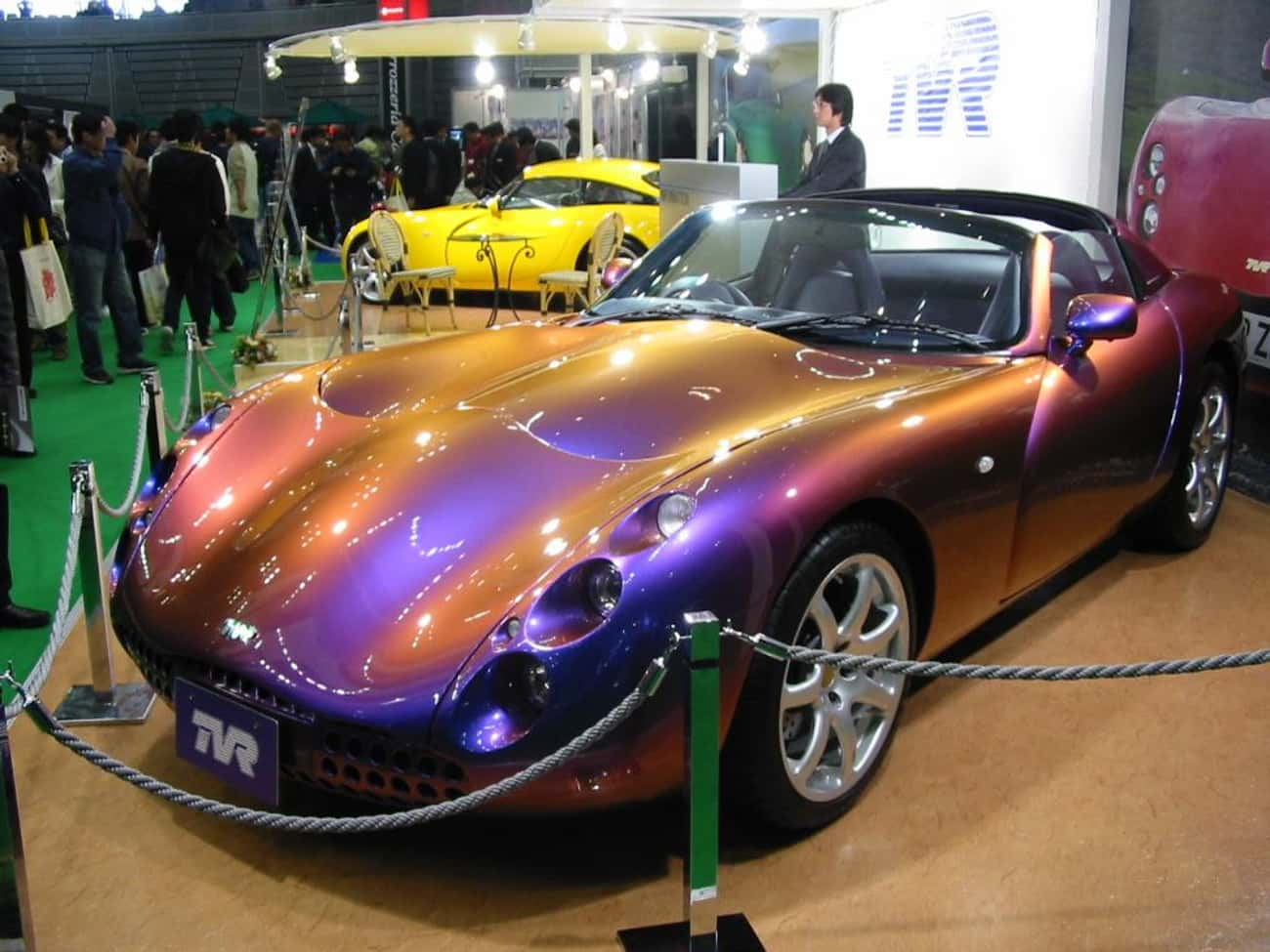 TVR Tuscan Speed 6 is listed (or ranked) 2 on the list Full List of TVR Models