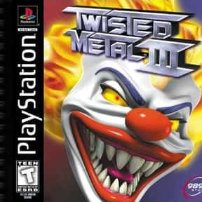 Twisted Metal III is listed (or ranked) 23 on the list The Best PlayStation Racing Games