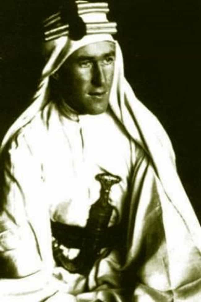 T. E. Lawrence is listed (or ranked) 2 on the list The Most Influential Illegitimate Children Throughout History