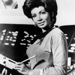 Uhura is listed (or ranked) 5 on the list The Greatest Female TV Role Models