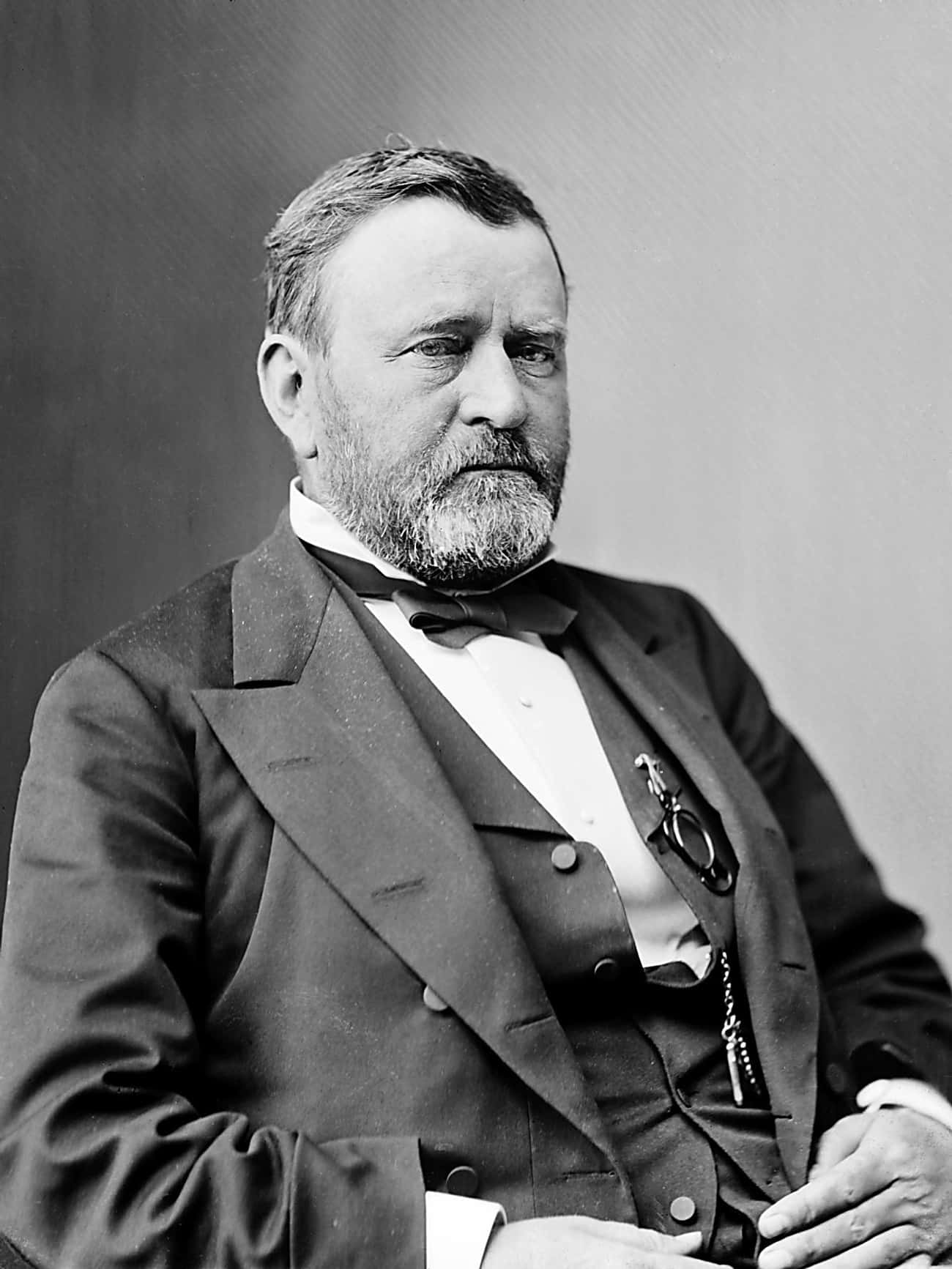 Ulysses S. Grant is listed (or ranked) 3 on the list Which Ex-Presidents Would You Want to Go on a Bender With?