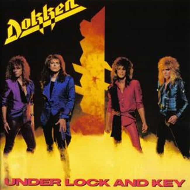 Under Lock and Key is listed (or ranked) 2 on the list The Best Dokken Albums of All Time