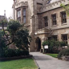 University of Melbourne is listed (or ranked) 1 on the list Optometry Schools from Around the World