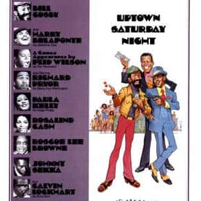 Uptown Saturday Night is listed (or ranked) 1 on the list The Best Black Movies of the 1970s