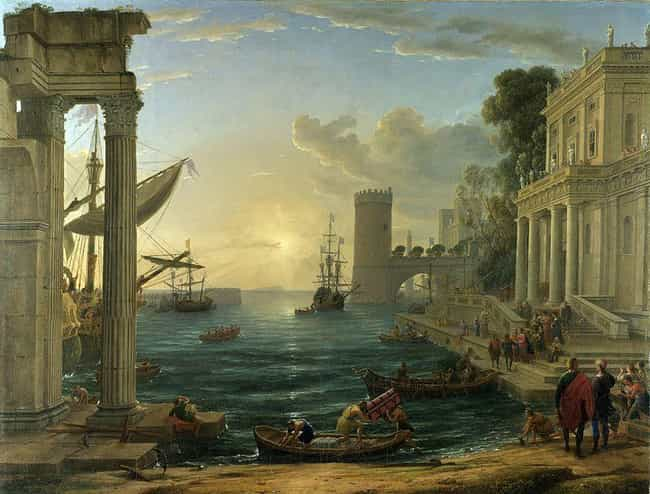 The Embarkation of the Q... is listed (or ranked) 3 on the list Famous Claude Lorrain Paintings