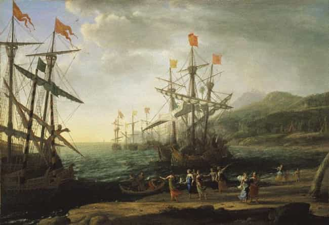 The Trojan Women Setting... is listed (or ranked) 4 on the list Famous Claude Lorrain Paintings