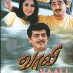 Vaali is listed (or ranked) 9 on the list The Top 10 Tamil Films of 2000