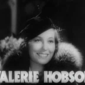 Valerie Hobson is listed (or ranked) 7 on the list Famous People Named Valerie