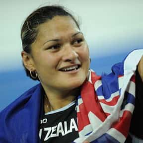 Valerie Adams is listed (or ranked) 4 on the list Famous People Named Valerie