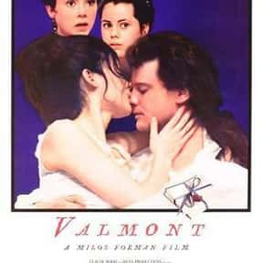 Valmont is listed (or ranked) 23 on the list The Best Colin Firth Movies