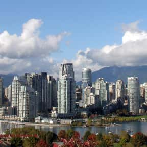 Vancouver - 49°15'N is listed (or ranked) 12 on the list All Global Cities, Listed North to South