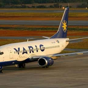 Varig is listed (or ranked) 5 on the list All Brazilian Airlines