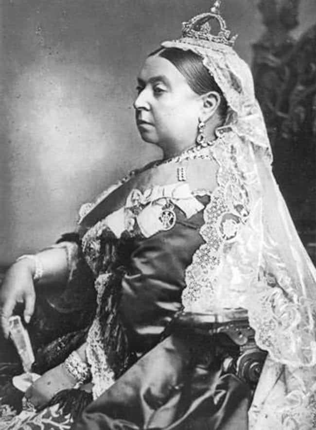 Queen Victoria is listed (or ranked) 1 on the list The most fattest British Monarchs