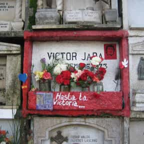 Víctor Jara is listed (or ranked) 4 on the list Famous People From Chile