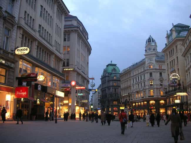 Vienna is listed (or ranked) 5 on the list The Most Beautiful Cities in the World