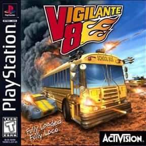 Vigilante 8 is listed (or ranked) 13 on the list The Best PlayStation Racing Games