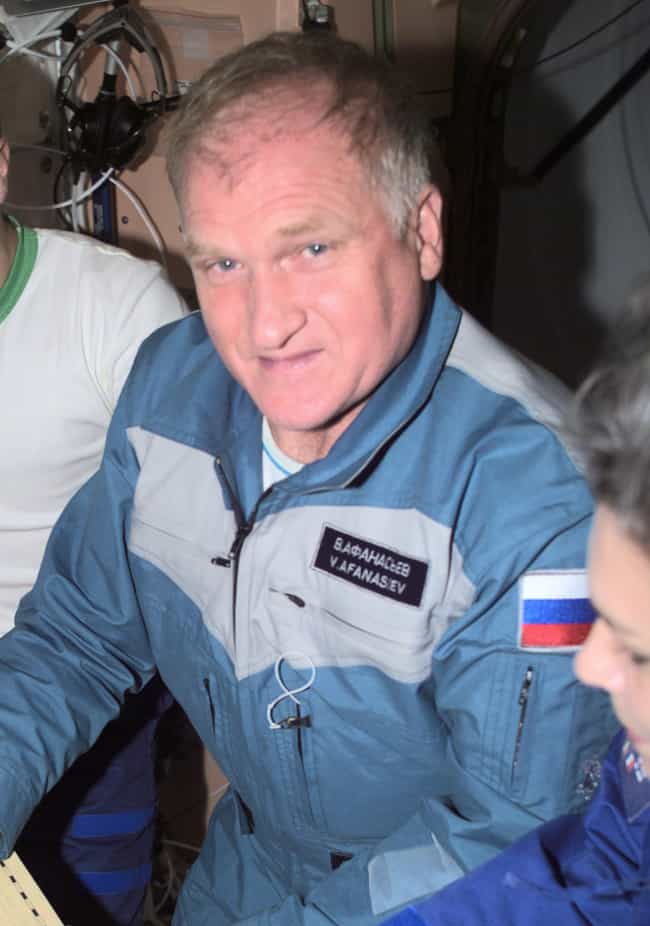 Viktor Mikhailovich Afanasyev is listed (or ranked) 3 on the list Male Space Travelers: A Complete List