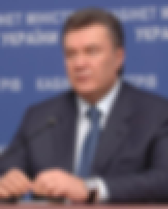 Viktor Yanukovych is listed (or ranked) 1 on the list 10 World Leaders Who Allegedly Jailed Their Political Opponents and Critics