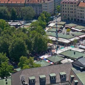 Viktualienmarkt is listed (or ranked) 5 on the list The Top Must-See Attractions in Munich